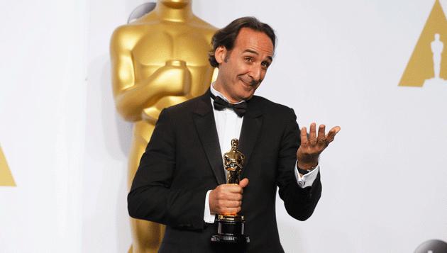 Alexandre Desplat Oscars 2015