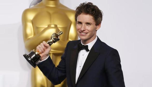 EddieRedmayne Oscars 2015