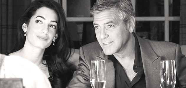 Georges Clooney, Gentleman au restaurant