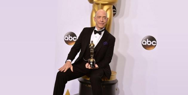 J.K Simmons Oscars 2015