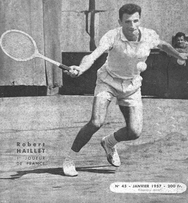 Robert Haillet, numéro 1 français de tennis