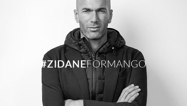 ZInedine Zidane signe chez Mango Man