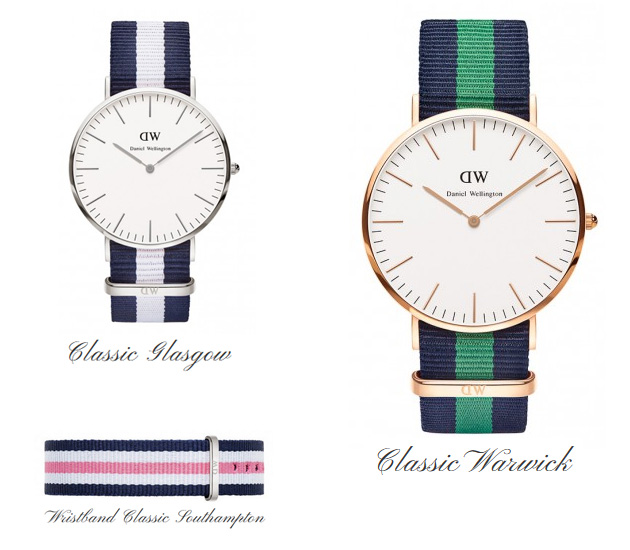 Montres Daniel Wellington weekend