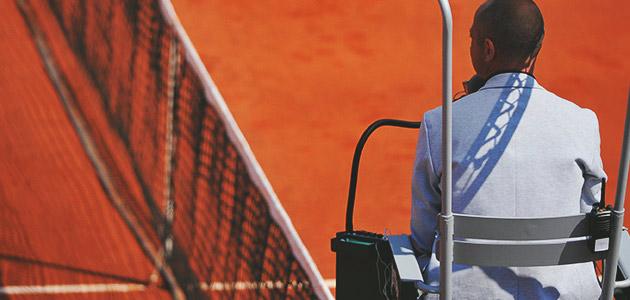 Arbitre Roland Garros