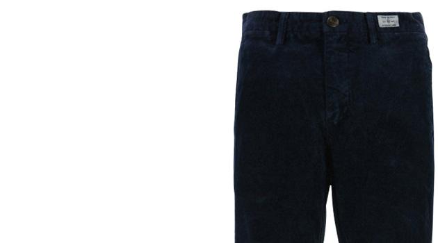 Pantalon Chino bleu Homme