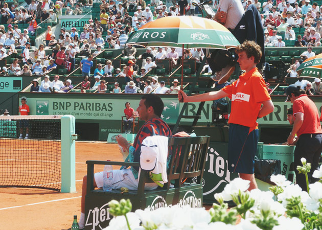 Parapluie Roland Garros