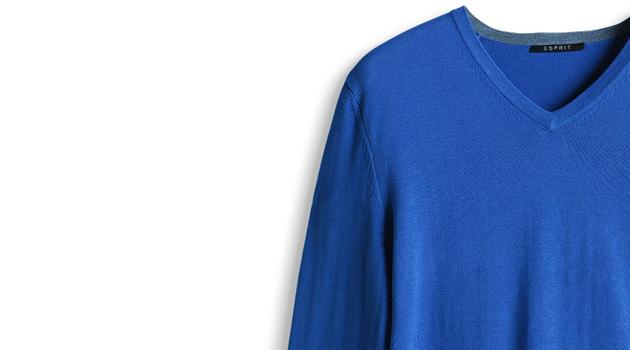 Pull bleu homme Esprit