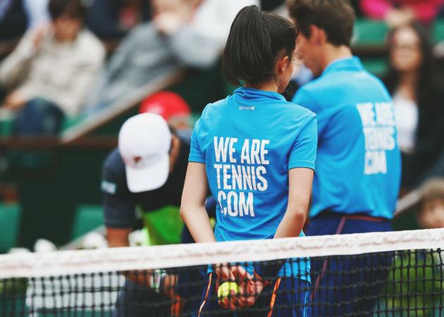 Ramasseurs balles Roland Garros